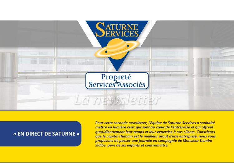 Newsletter Saturne service numéro 2, en direct de Saturne