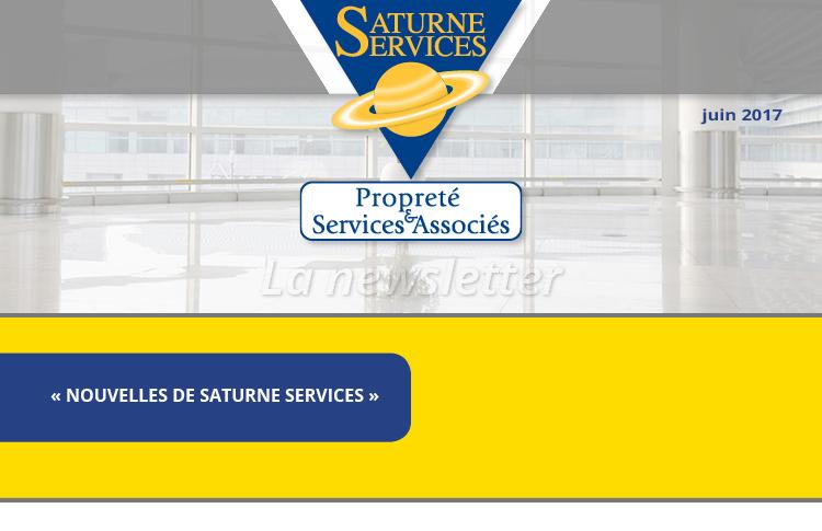 Newsletter Saturne service numéro 3, «NOUVELLES DE SATURNE SERVICES»
