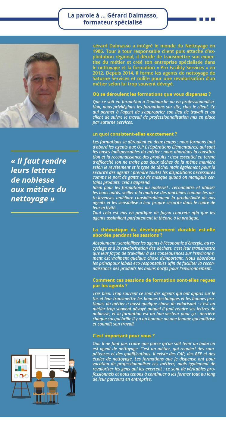 La parole à … Gérard Dalmasso,  formateur spécialisé