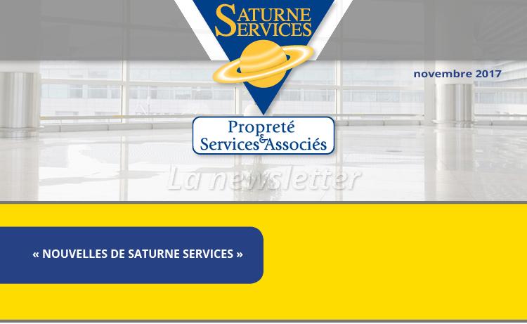 Newsletter Saturne service numéro 6, «NOUVELLES DE SATURNE SERVICES»